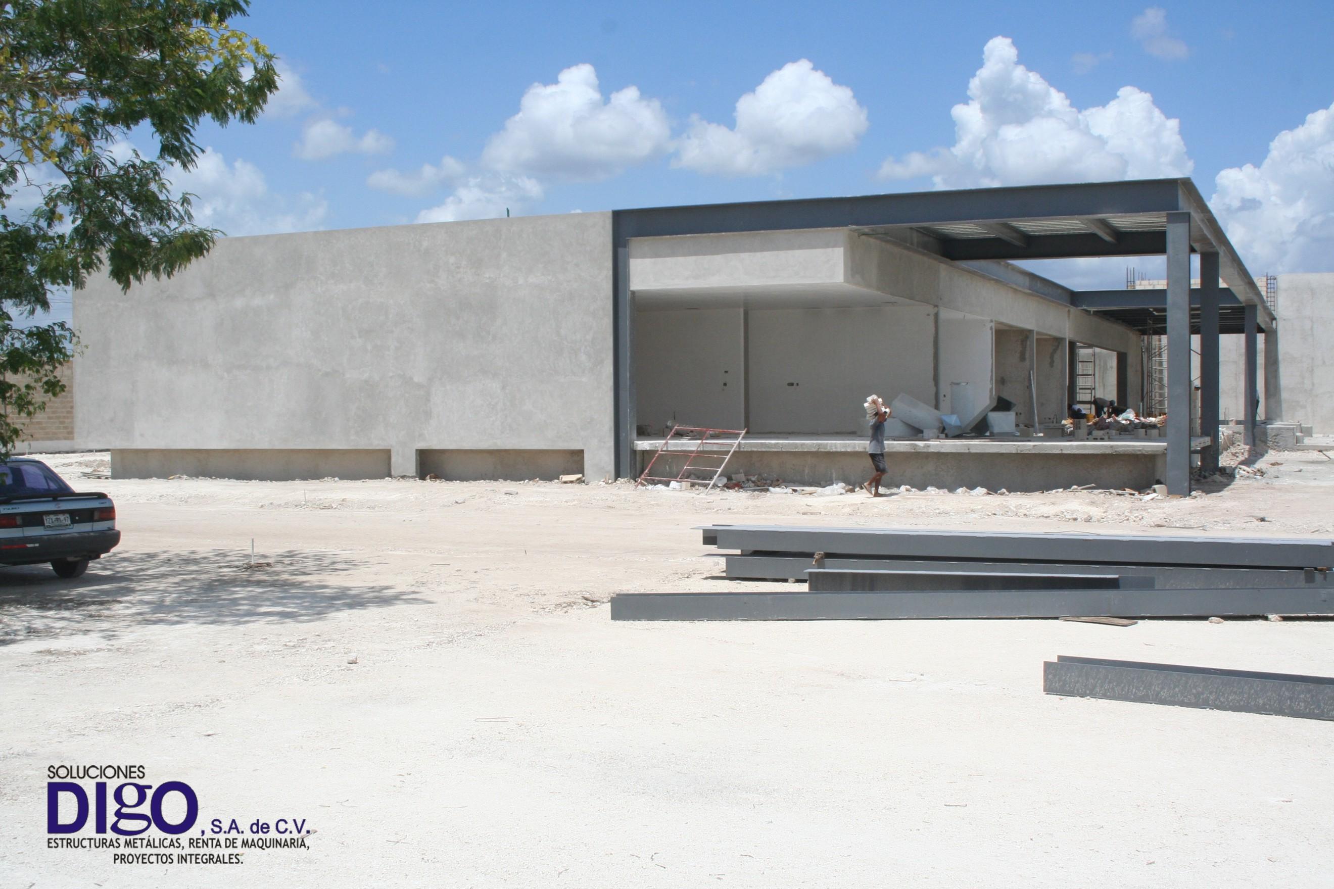 Casa de estructura metalica gallery of foto de archivo - Casas con estructura metalica ...